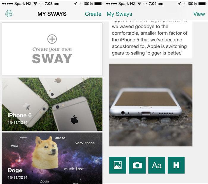 需要一个精致的动态网页?来试试微软Sway吧