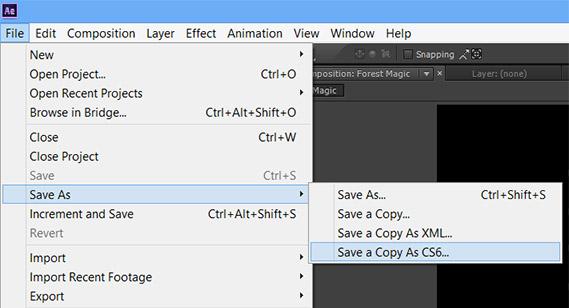 Adobe CC文件是否向下兼容CS6?
