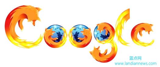 Mozilla与Google Mozilla结束与Google的合作 转而向地区性搜索引擎合作:雅虎、百度、Yandex在列,蓝点网图片