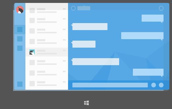 QQ for Windows平板v4.1发布:全新Light风格、更轻快、更简洁