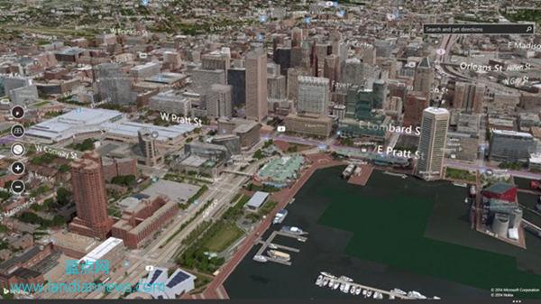 虚拟游美国:微软继续更新 Bing Maps 街景和 3D 城市图像
