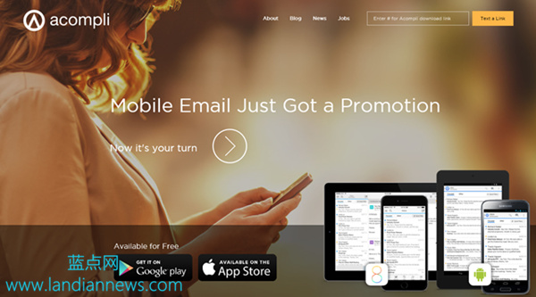 微软收购 iOS 和 Android 邮件应用开发商 Acompli