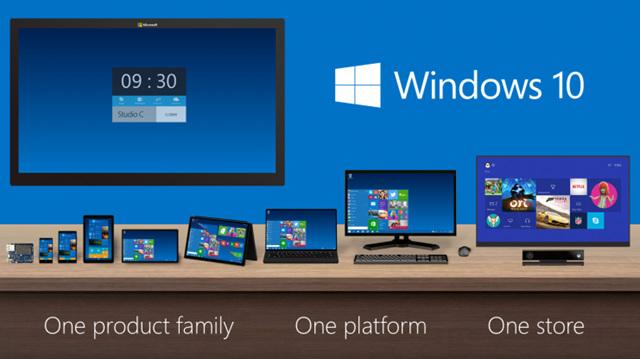 Windows 10 手机版(WP10)内核版本也要升级到NT10的节奏