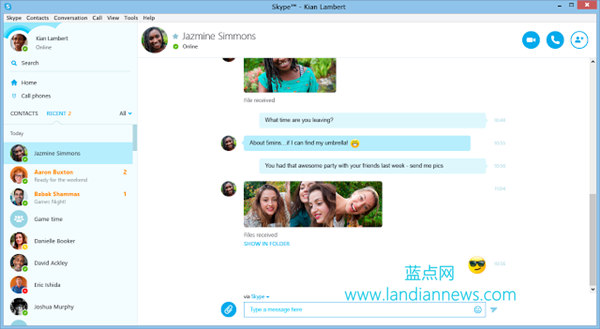 跨平台视频通话!微软宣布整合Skype与Lync