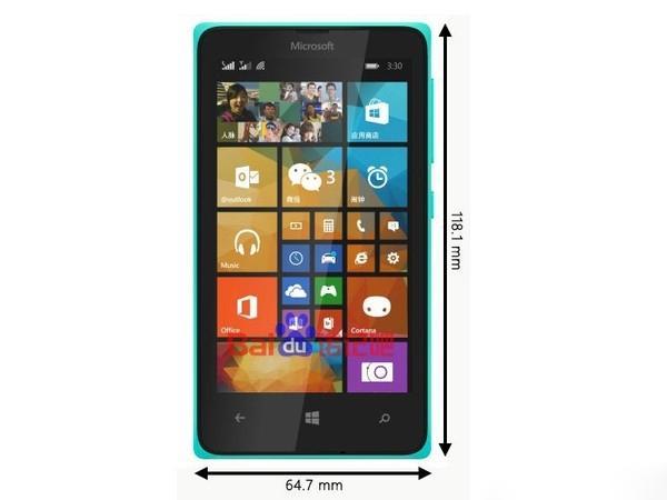 外观形似Nokia X:比低端更低端的Lumia 435被曝光