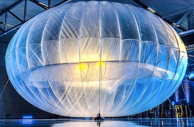 Google跟法国的 CNES 合作发展 Project Loon 计划