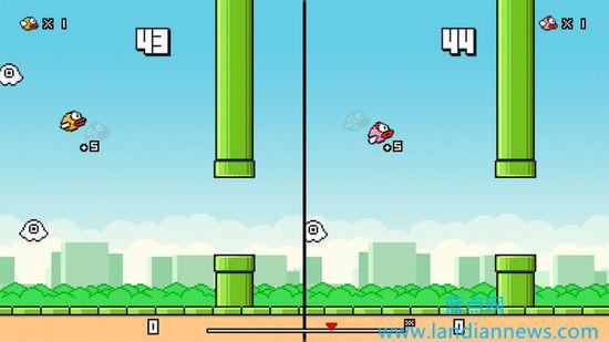 Flappy Bird回来了,支持双人游戏模式