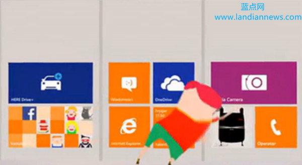 波兰Windows Phone 8.1广告中惊现新尺寸动态磁贴