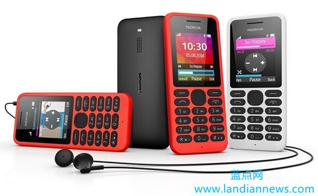 诺基亚继续发布新功能机 Nokia 130