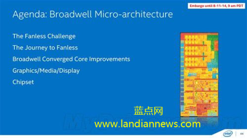 英特尔14纳米五代酷睿处理器将于年底发布