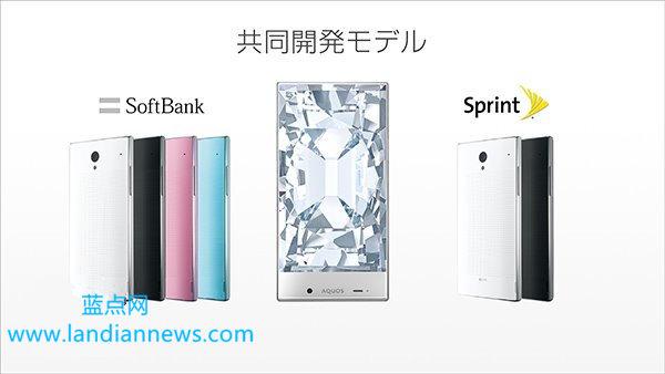 无边框水晶质感,夏普发布两款新手机