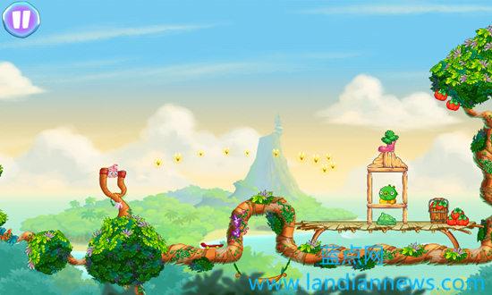 《愤怒的小鸟之Stella》上线:粉红色的小鸟对抗捣蛋猪 附APK下载