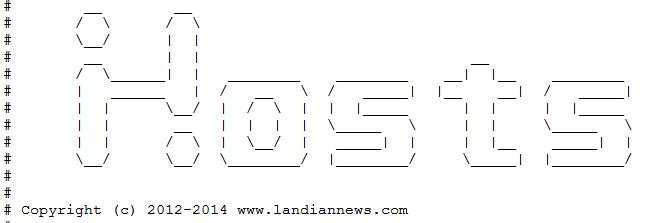 [141227更新]常用hosts IP列表 可访问Google、OneDrive等