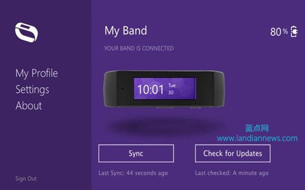 微软手环 Microsoft Band 外观和应用曝光 续航2天