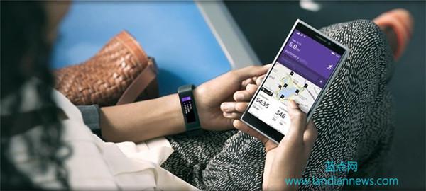 微软宣布 Microsoft Band 微软智能手环:价格 $199,本周上市