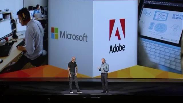 微软和 Adobe 合作 Photoshop 触控更友好