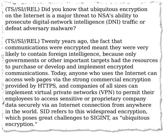 斯洛登最新文件:VPN并不安全 NSA可拦截VPN连线并破解