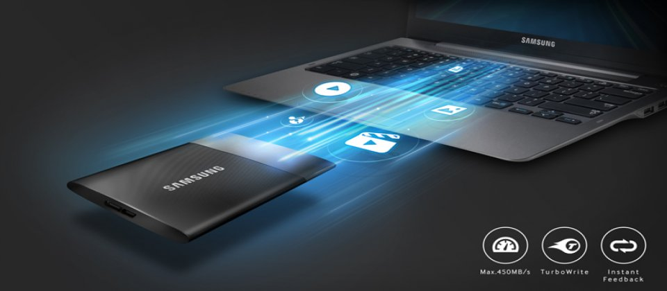 三星推出新一代便携式SSD T1 仅名片大小、最高1TB容量