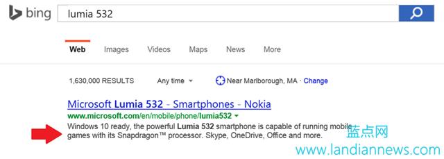 """微软:Lumia 532 已是""""Windows 10 准备就绪""""机型"""
