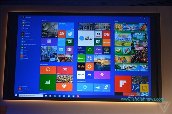 [画廊]Windows 10 桌面版和手机版新特性和界面展示