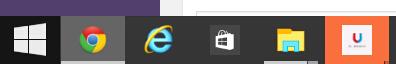 Windows 10 Build 9926移除任务栏上的搜索框及虚拟桌面按钮的方法