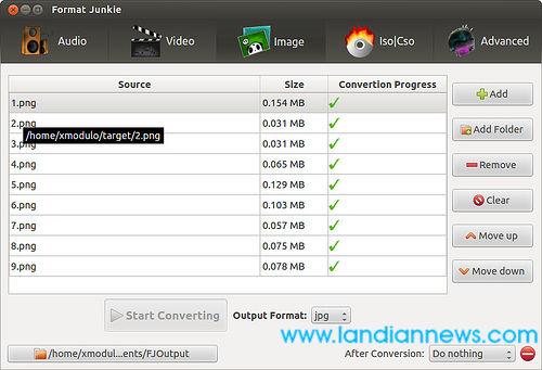 Ubuntu:如何换图像、音频和视频格式