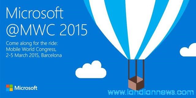 微软送出MWC 2015发布会邀请函