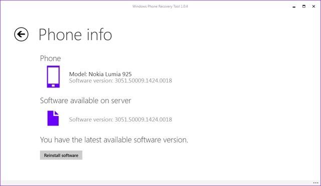 Windows 10 手机版预览版:Windows Phone 8.1回滚恢复工具发布