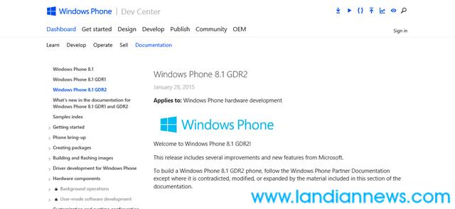 微软文档显示Windows Phone 8.1 GDR2存在 支持视频通话