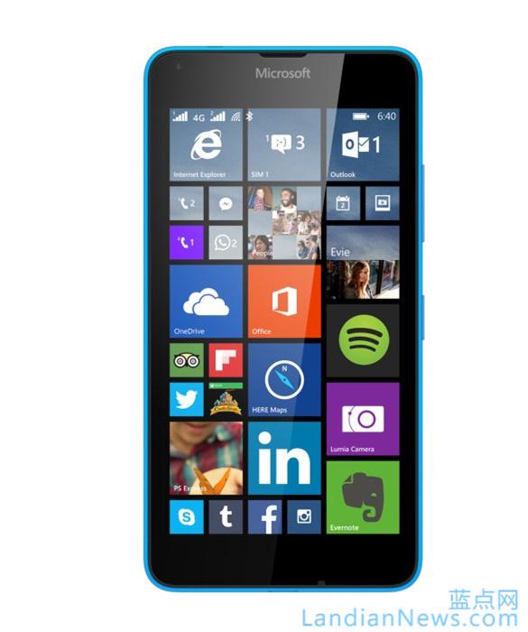 MWC 2015:微软发布Lumia 640和640 XL 本月底上市
