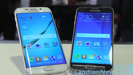 三星在MWC 2015发布新旗舰手机Galaxy S6和Galaxy S6 Edge
