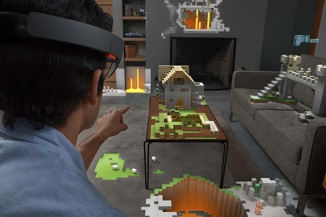 Xbox 游戏也将登陆微软 HoloLens 眼镜
