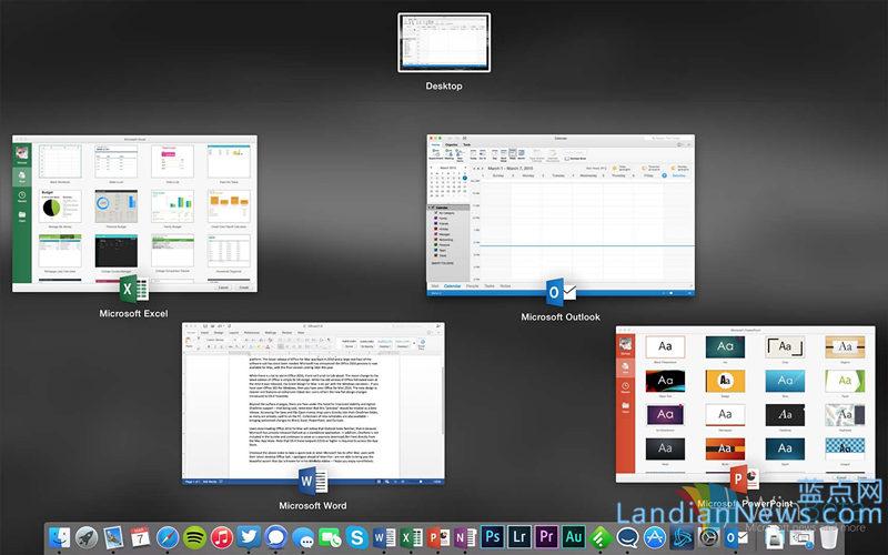 Office 2016 for Mac预览版:仔细看看Mac版有何不同