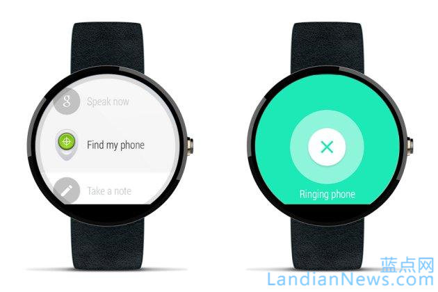 Android Wear 现成为寻找手机的小助手啦 [来源:蓝点网 地址:http://www.landiannews.com]