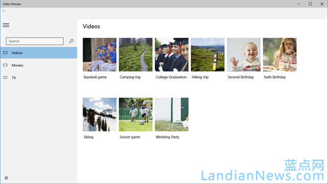 微软发布Windows 10新Music和Video预览版,脱离Xbox品牌 https://www.landiannews.com/archives/tag/