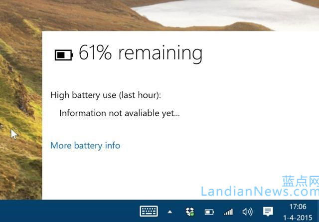 Windows 10 Build 10049:未宣布的一些更新细节整理 [来源:蓝点网 地址:https://www.landian.vip]