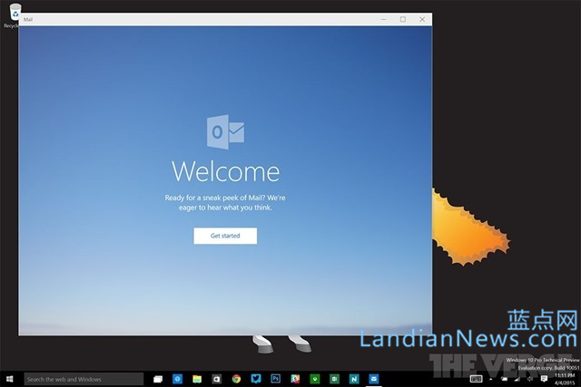 Windows 10 Build 10051泄漏,曝光新邮件和日历应用