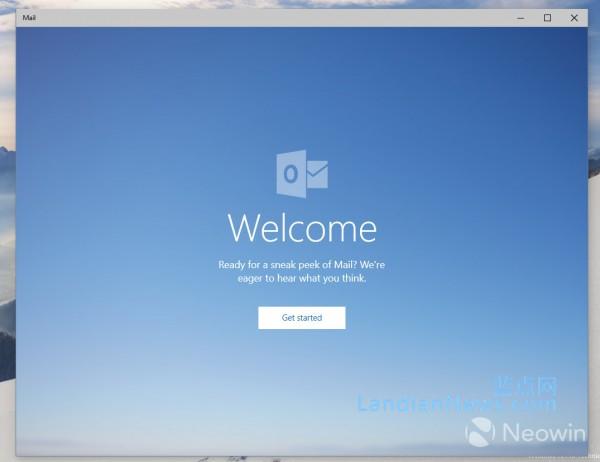 [画廊]Windows 10 Build 10051:Outlook邮件应用多图预览