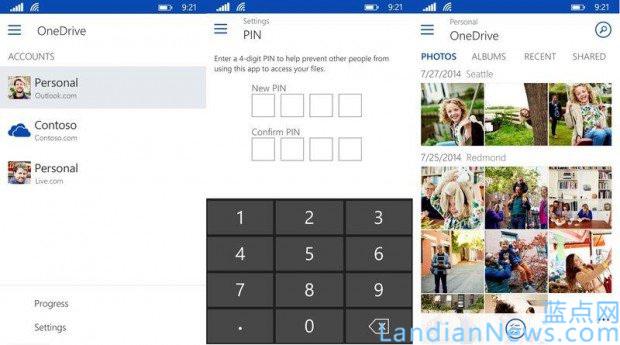 OneDrive for Windows Phone更新:Bug修复及性能提高