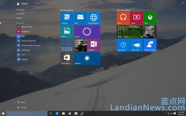 Windows 10 Build 10056版iso镜像百度云下载