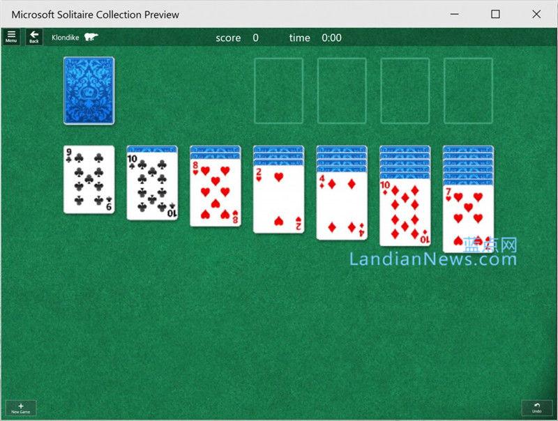 满满的都是回忆:纸牌回归---Windows 10 Build 10056中纸牌游戏回来了