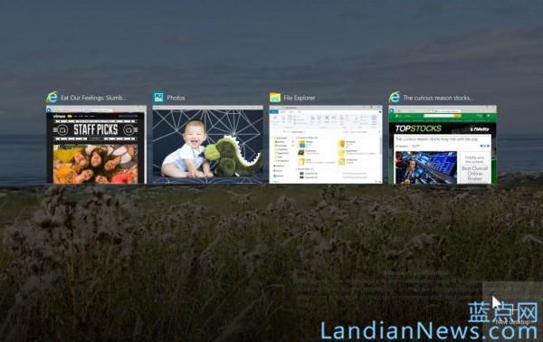 微软博客介绍Windows 10虚拟桌面并希望通过投票方式对其改进