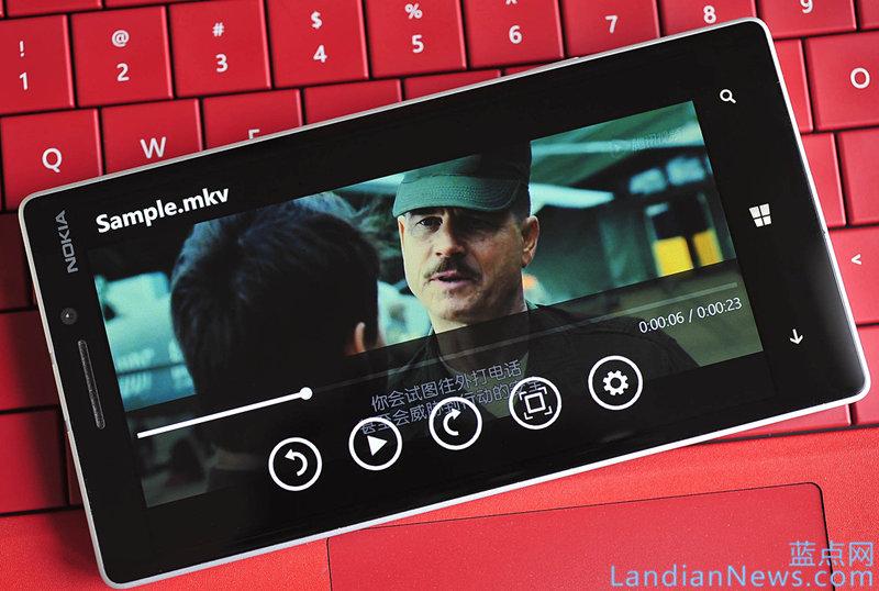 Windows Phone 8.1 GDR 2也支持MKV格式的视频播放了