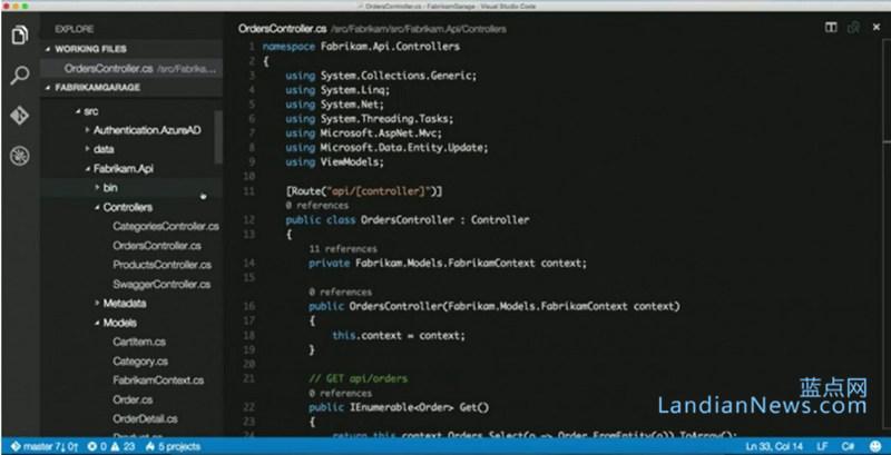 微软宣布Visual Studio Code支持Linux与Mac