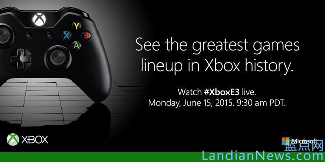 微软预告Xbox E3 2015发布会