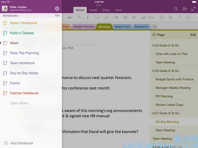 OneNote应用支持手写笔记搜索,Mac版支持录音