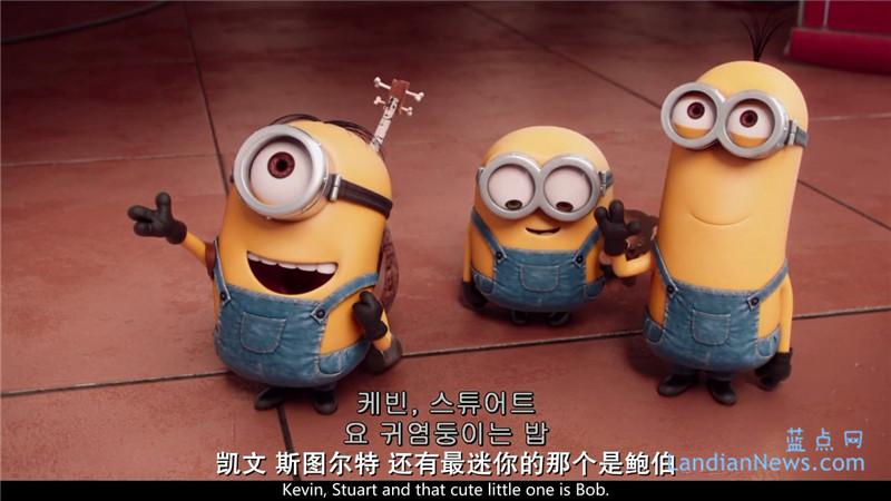 小黄人大眼萌:720P/1080P高清韩版英语中字种子下载